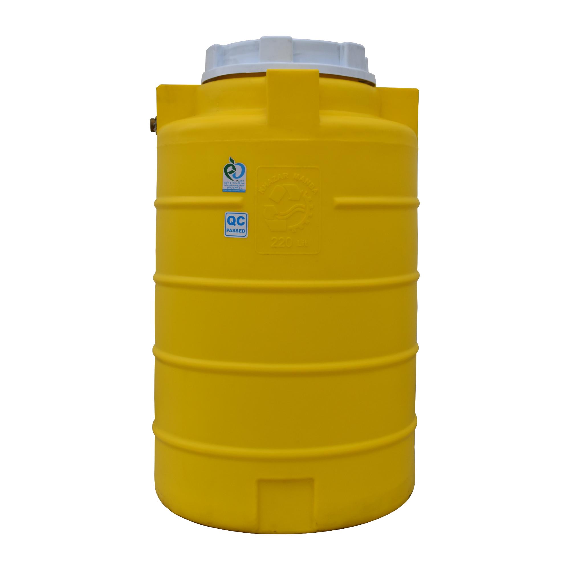 قیمت                                      مخزن آب خزر منبع کد5 حجم 220 لیتر