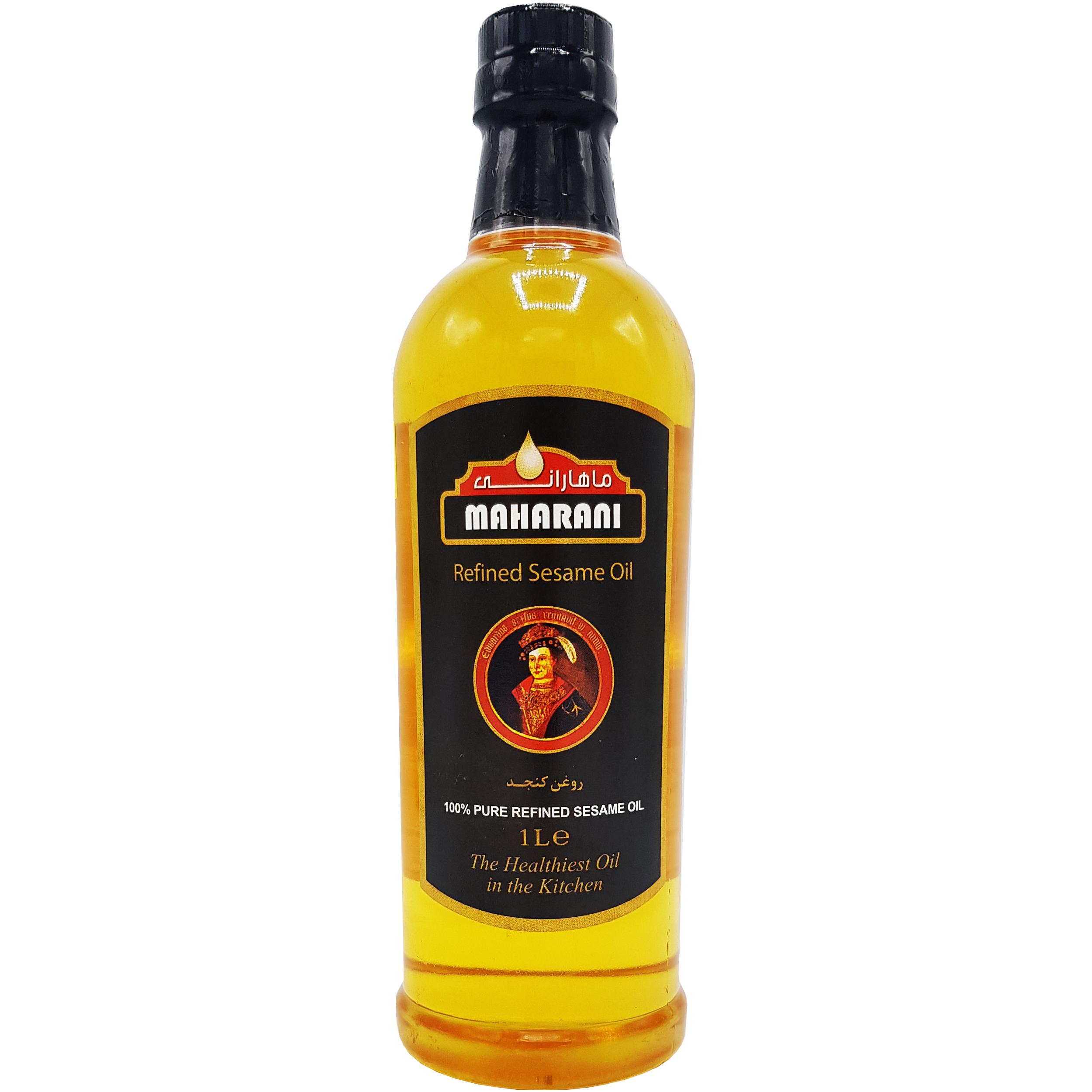 روغن کنجد تصفیه شده ماهارانی - 1 لیتر main 1 1