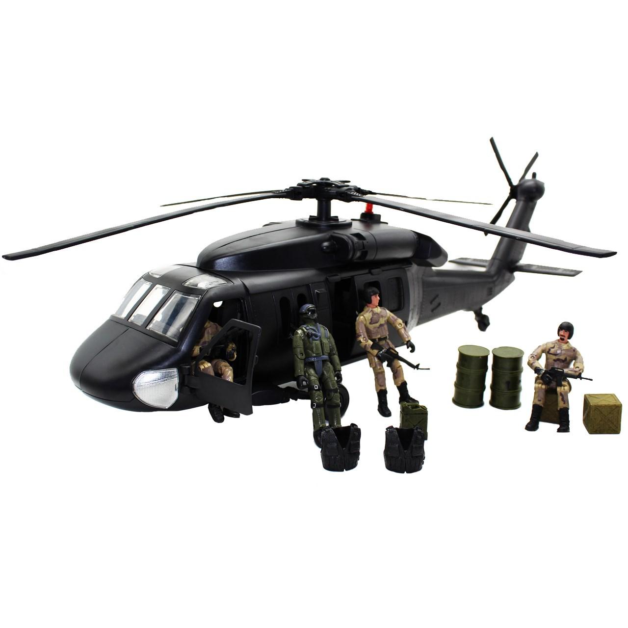 اکشن فیگور ام اند سی مدل Black Hawk 77026