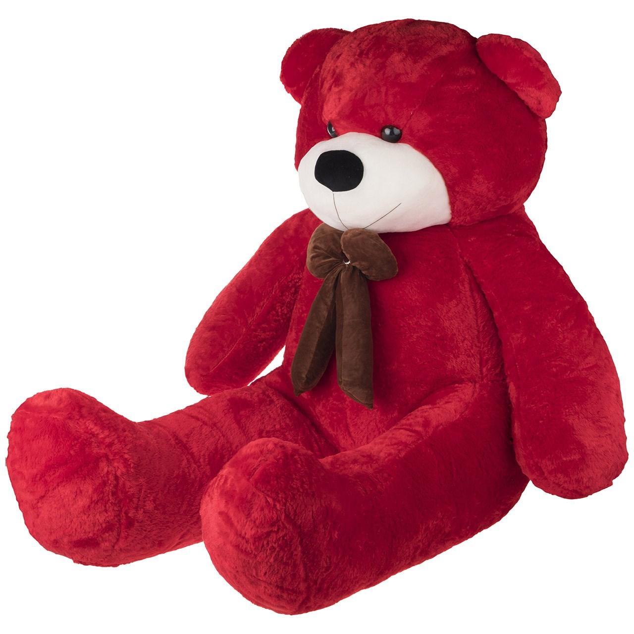 عروسک یاران مدل خرس پاپیون نگین دار ارتفاع 160 سانتی متر