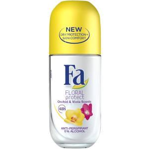 رول ضد تعریق زنانه فا مدل Floral Protect حجم 50 میلی لیتر