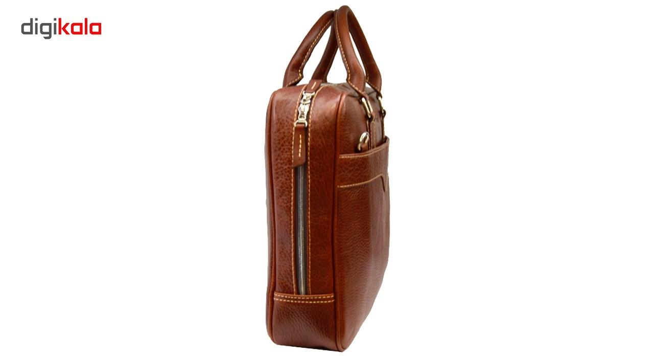 کیف اداری چرم طبیعی گارد مدل 11227
