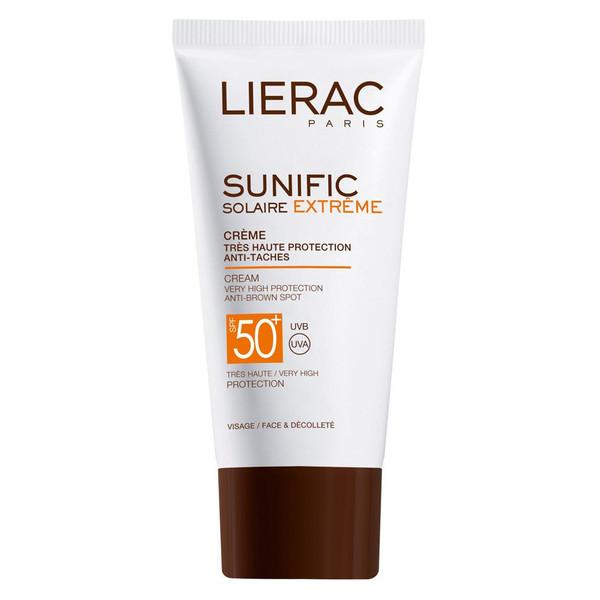 کرم ضد آفتاب لیراک سری Sunific مدل Solaire Extreme حجم 50 میلی لیتر