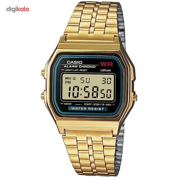 خرید ساعت مچی دیجیتال مردانه کاسیو مدل A159WGEA-1DF | ساعت مچی
