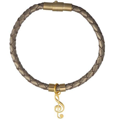 دستبند طلا 18 عیار رزا مدل BW111