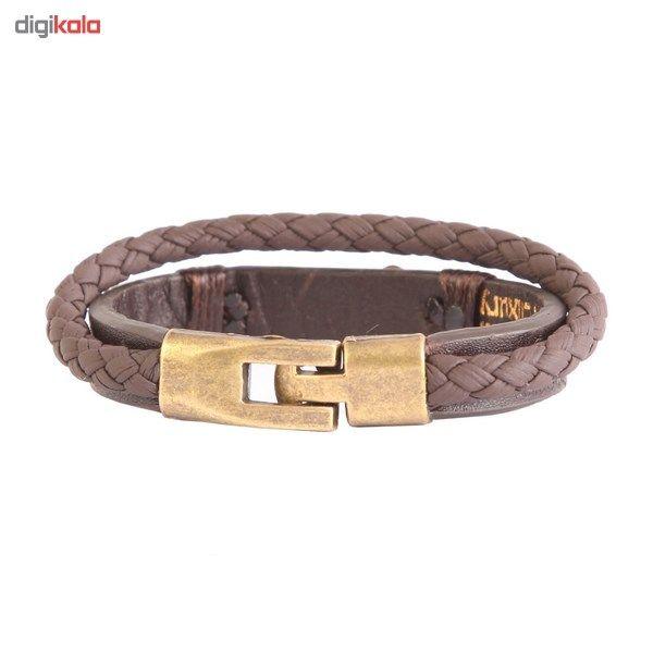 دستبند طلا 18 عیار کابوک مدل 175009 طرح بینهایت -  - 5