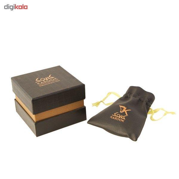 دستبند طلا 18 عیار کابوک مدل 175009 طرح بینهایت -  - 6
