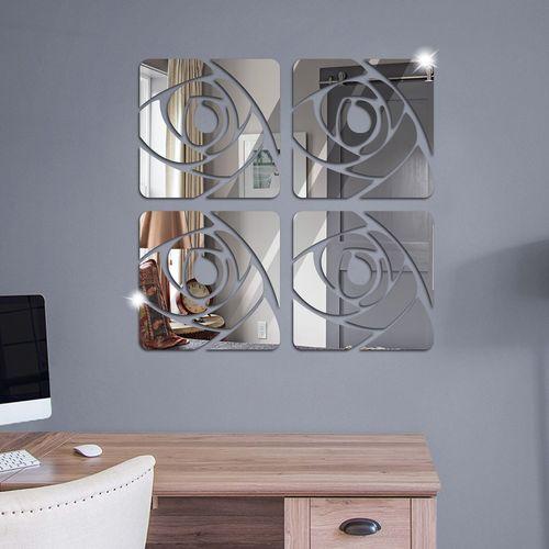 موللتی استایل طرح آینه کارا دیزاین مدل A02  مولتی استایل طرح سایز 130x30 سانتیمتر