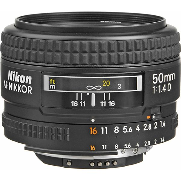 لنز نیکون مدل 50mm f/1.4D
