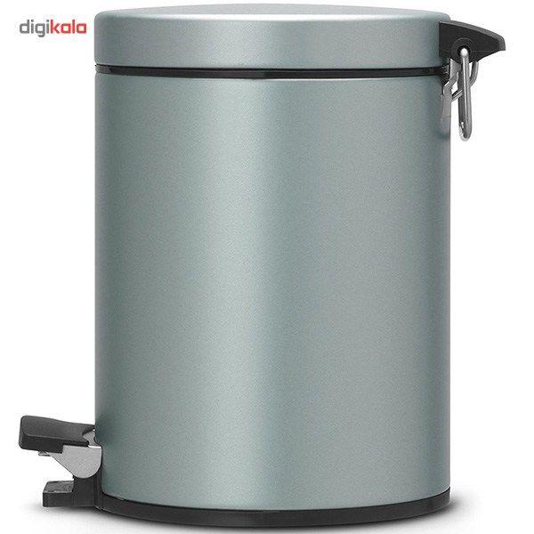سطل زباله برابانتیا سری کلاسیک کد 484087 - گنجایش 5 لیتری main 1 2
