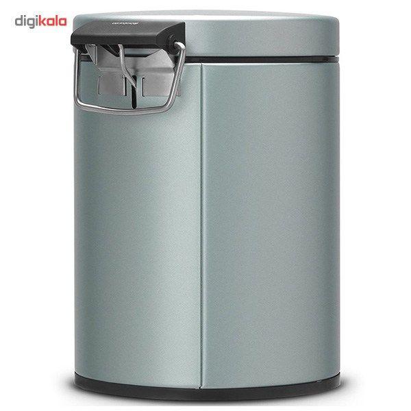 سطل زباله برابانتیا سری کلاسیک کد 484087 - گنجایش 5 لیتری main 1 3
