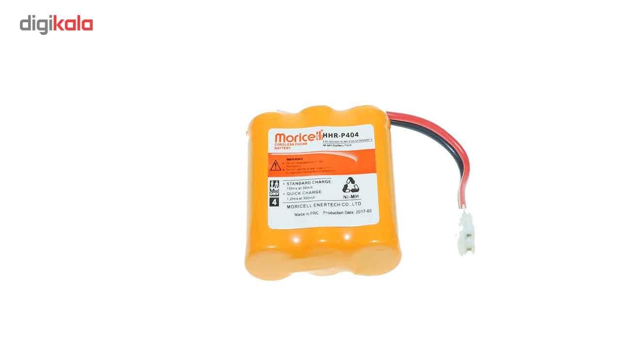 قیمت                      باتری تلفن بی سیمMD مدلHHR-P404