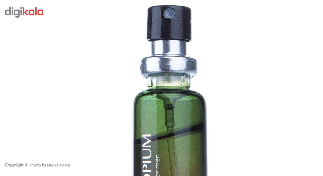 عطر جیبی مردانه ژک ساف مدل Opium حجم 22 میلی لیتر -  - 5