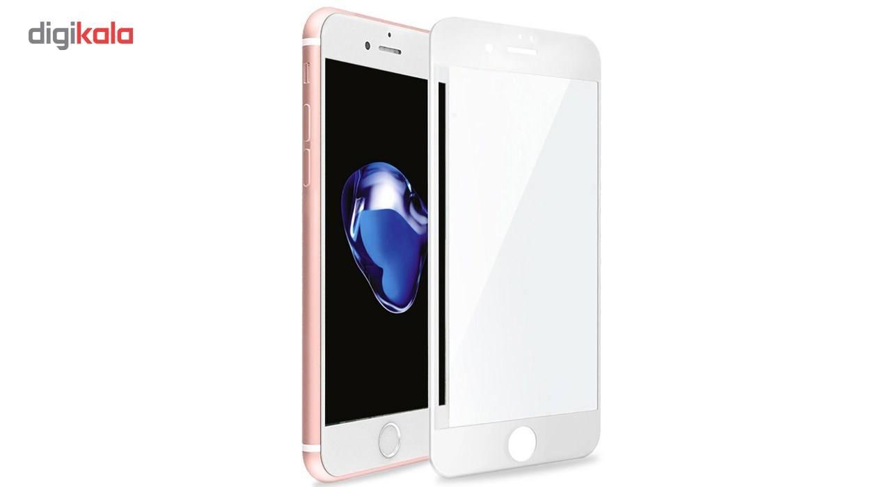 محافظ صفحه نمایش  تمام چسب شیشه ای پیکسی مدل 5D  مناسب برای گوشی اپل آیفون 6/6s main 1 3