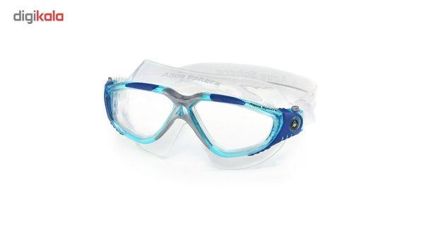 عینک شنای آکوا اسفیر مدل Vista لنز شفاف