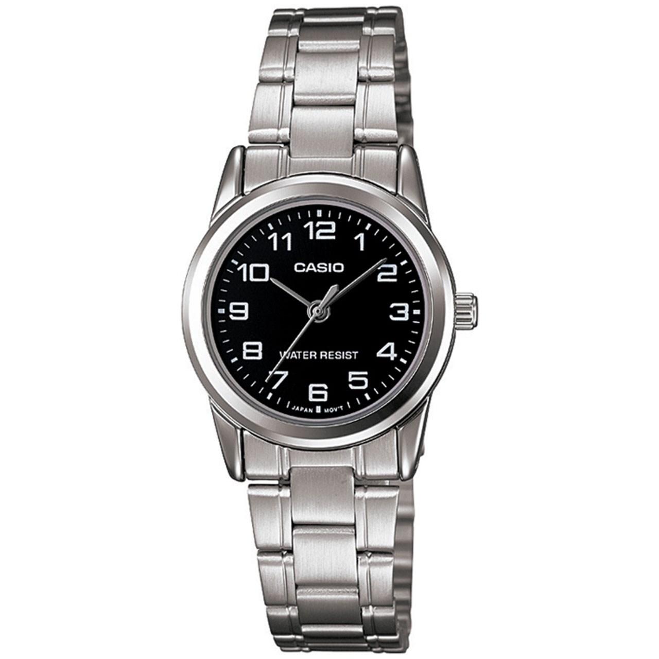 ساعت مچی عقربه ای زنانه کاسیو مدل LTP-V001D-1BUDF