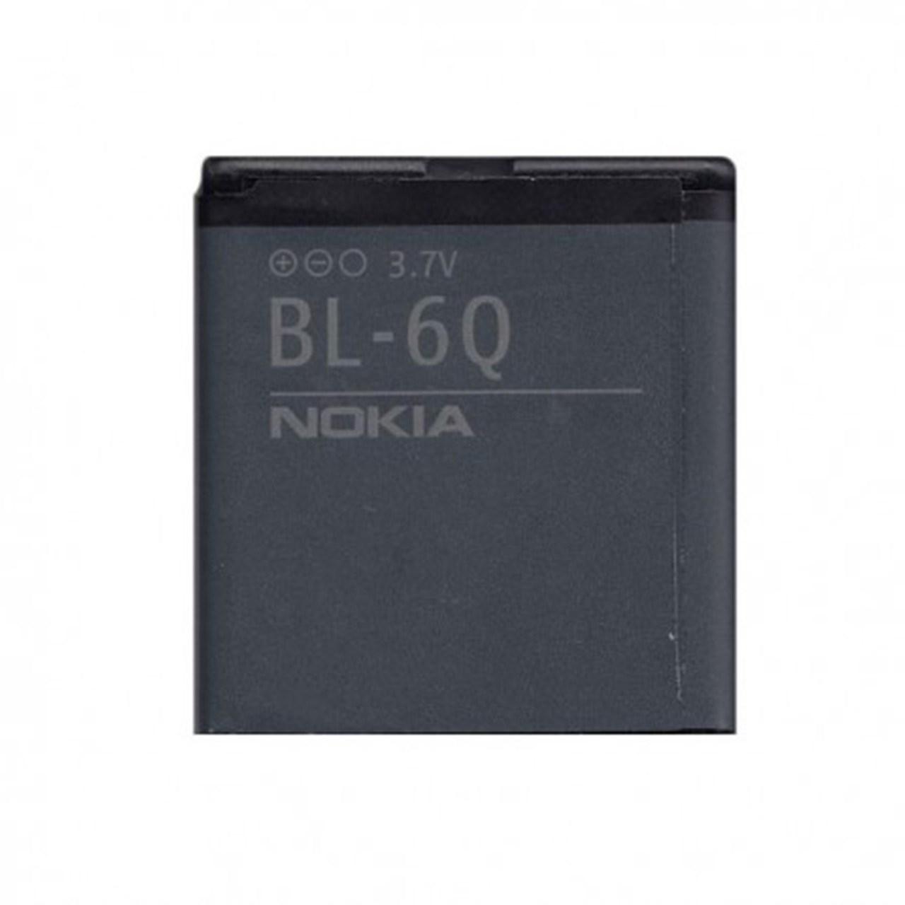 باتری موبایل مدل BL-6Q با ظرفیت 970Mah مناسب برای گوشی موبایل نوکیا 6700 Classic