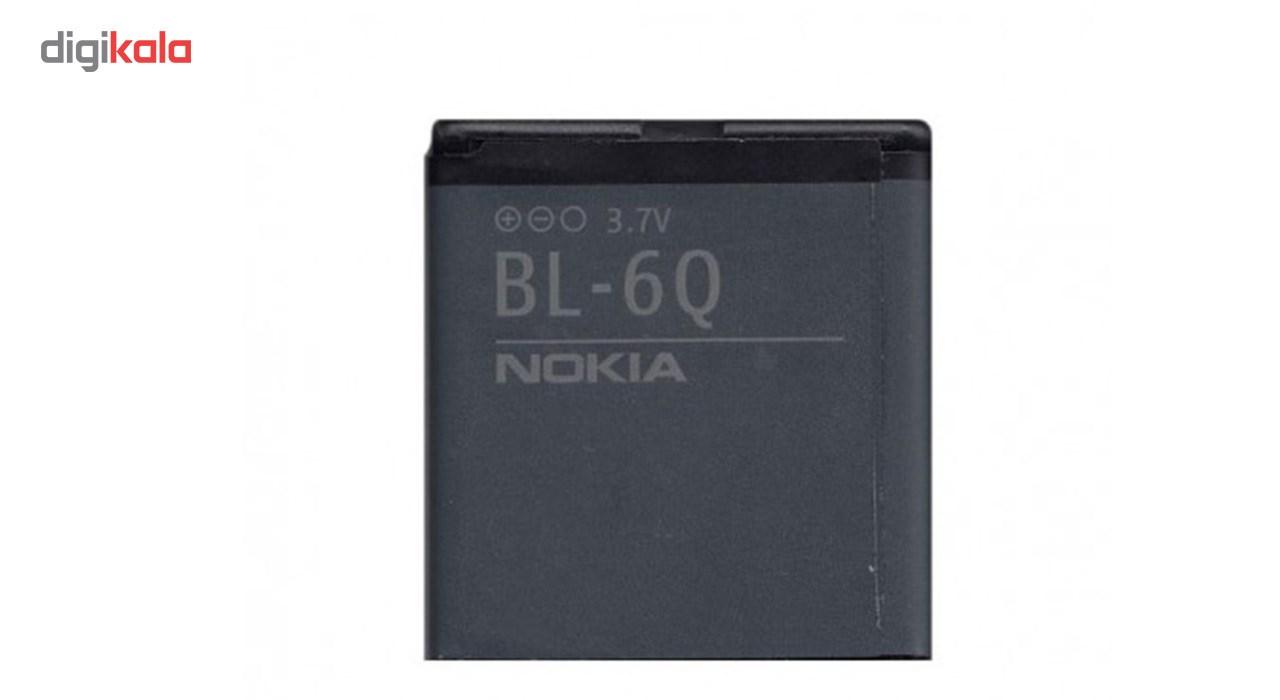 باتری موبایل مدل BL-6Q با ظرفیت 970Mah مناسب برای گوشی موبایل نوکیا 6700 Classic main 1 1