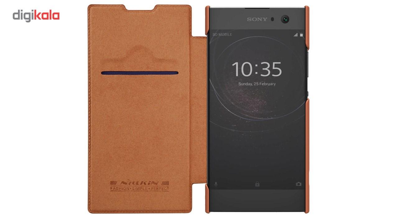 کیف کلاسوری نیلکین مدل Qin مناسب برای گوشی موبایل سونی Xperia XA2 Ultra main 1 5