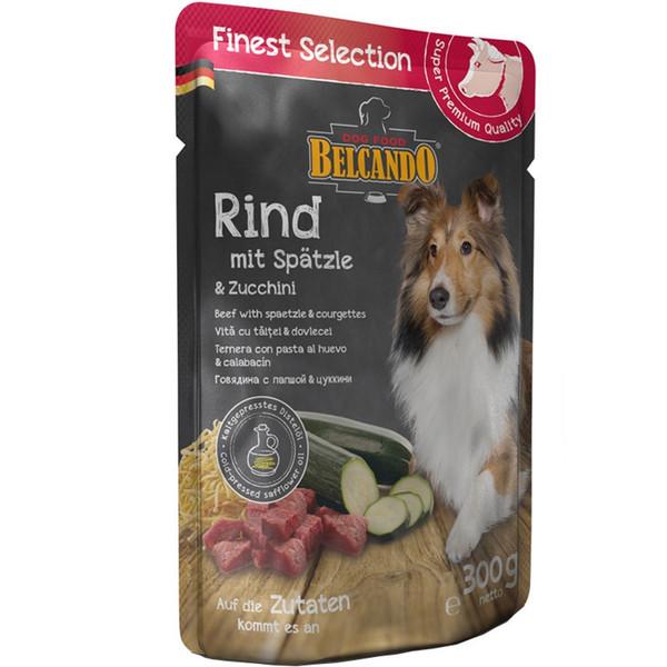 غذای پوچ سگ بلکاندو مدل Beef Spaetzle وزن 0.3 کیلوگرم