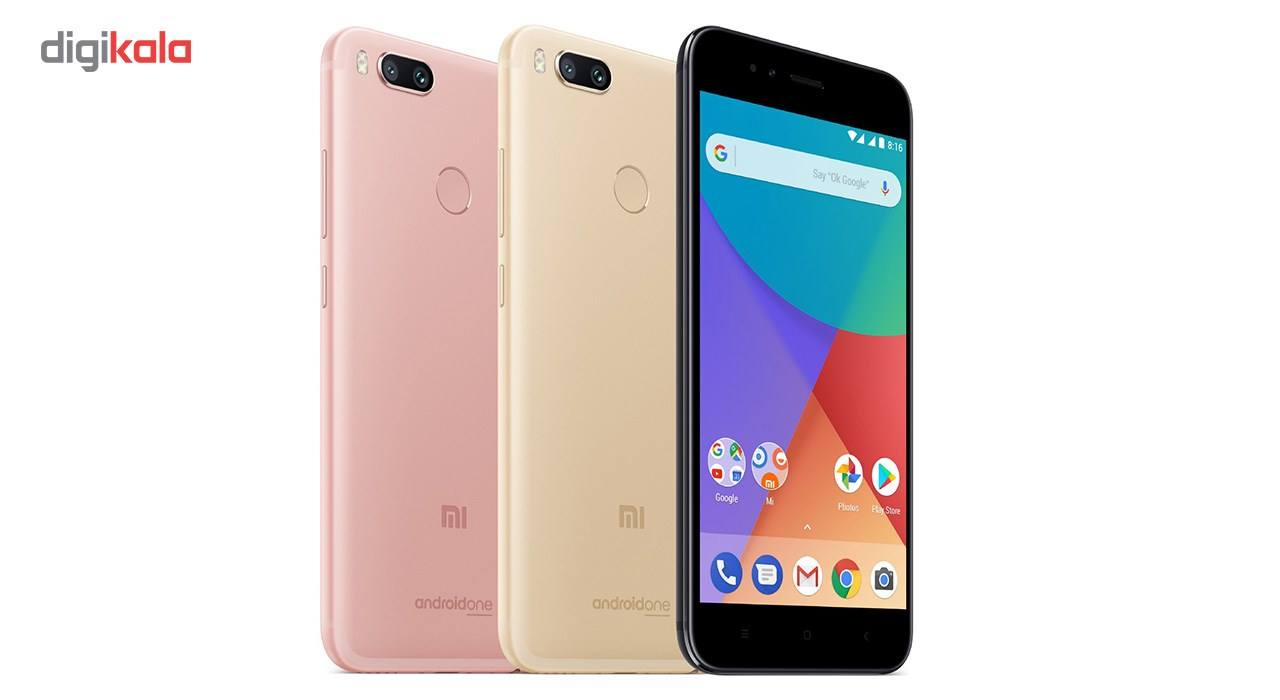 گوشی موبایل شیائومی مدل Mi A1 MDG2 دو سیم کارت ظرفیت 64 گیگابایت main 1 12