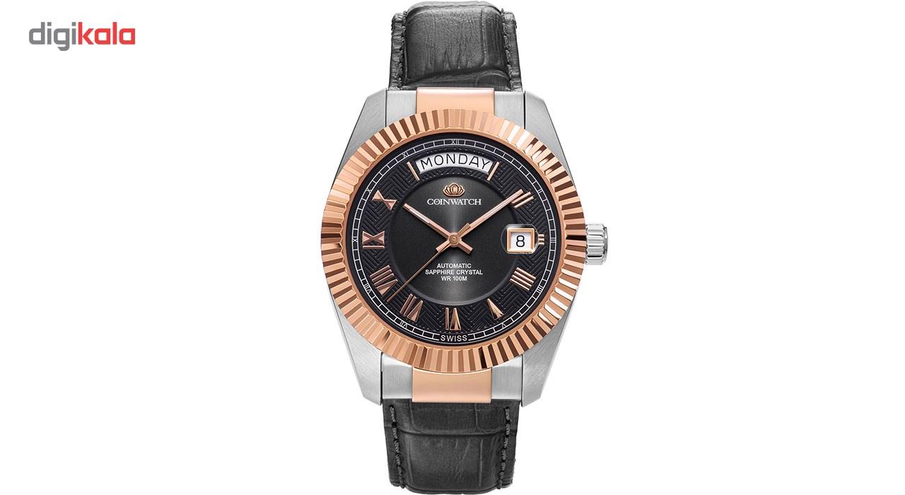 خرید ساعت مچی عقربه ای مردانه کوین واچ مدل C113RBK