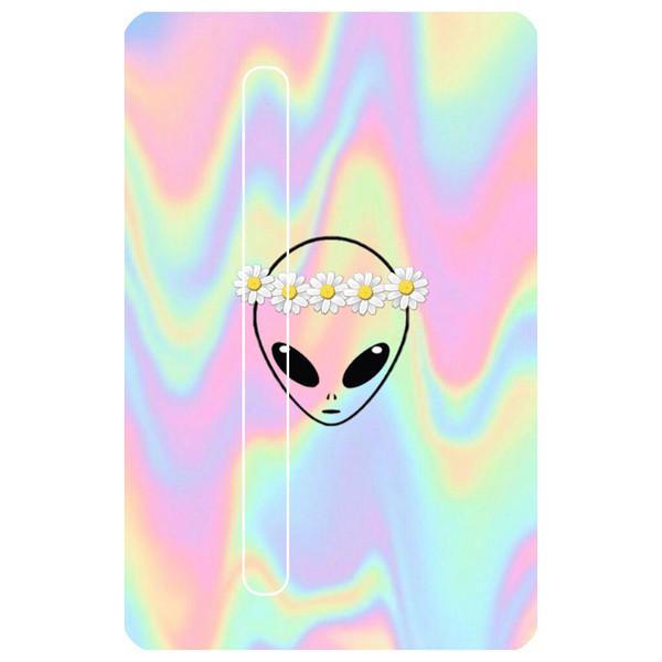 استیکر کارت مدل آدم فضایی هلوگرامی کد 086