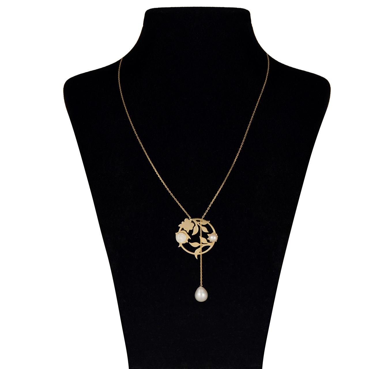 گردنبند طلا 18 عیار ماهک مدل MM0372 - مایا ماهک