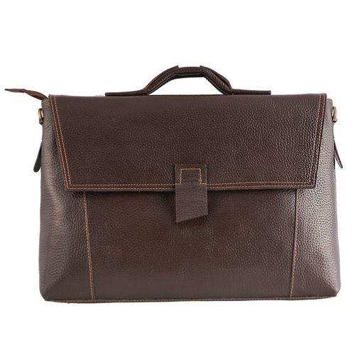 کیف اداری چرم طبیعی ماندگار مدل اسپرت کد 136040