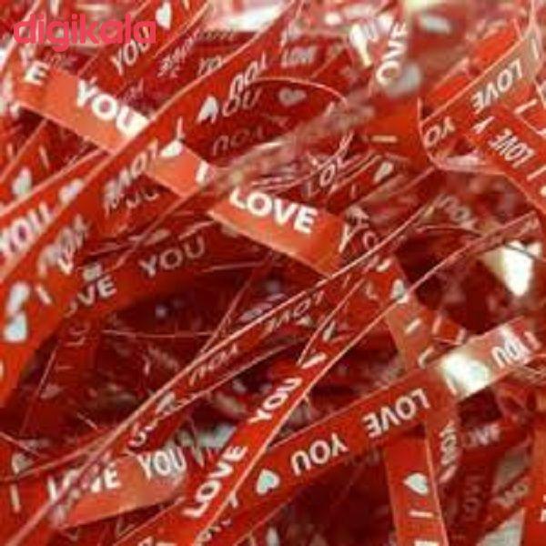 پوشال تزیینی طرح I LOVE YOU مدل 491 main 1 3