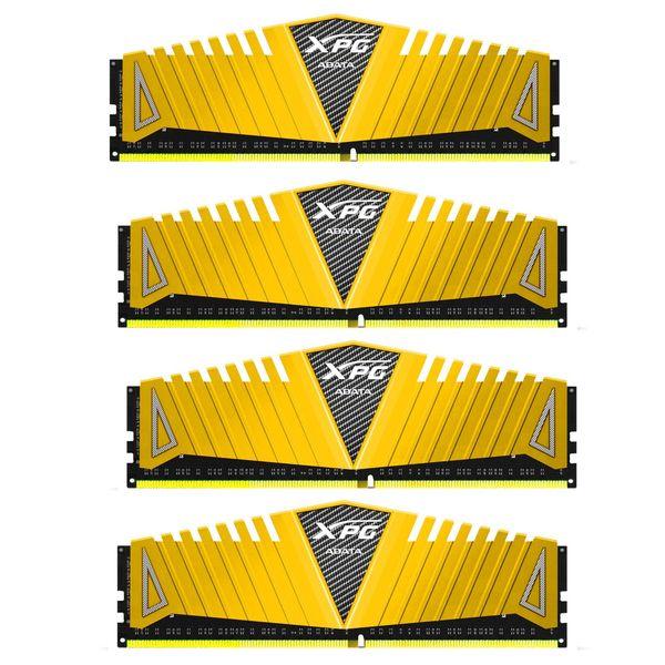 رم کامپیوتر چهار کاناله DIMM ای دیتا مدل XPG Z1 با فرکانس 3000 مگاهرتز ظرفیت 32 گیگابایت