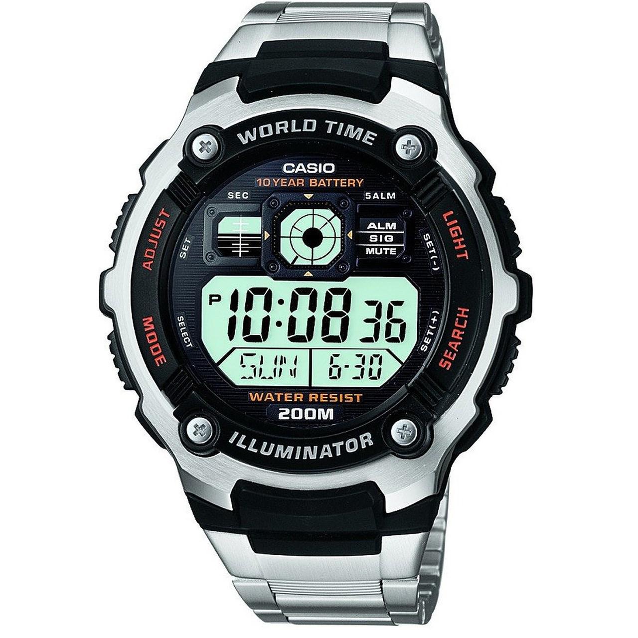ساعت مچی دیجیتالی مردانه کاسیو مدل AE-2000WD-1AVDF 45