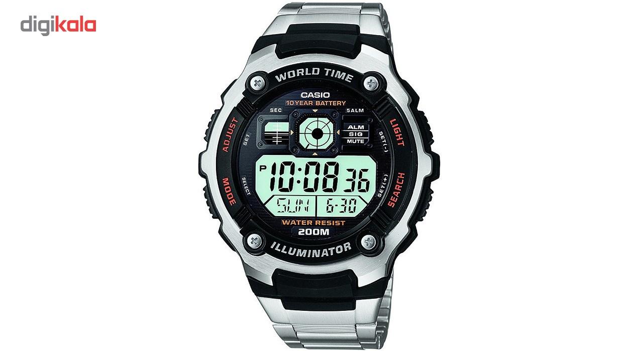ساعت مچی دیجیتالی مردانه کاسیو مدل AE-2000WD-1AVDF             قیمت