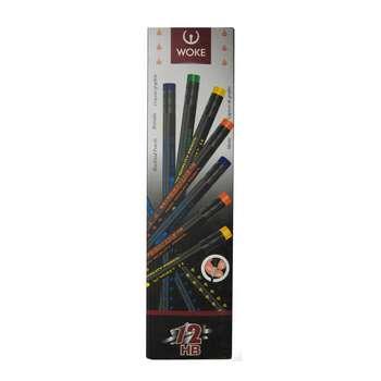 مدادمشکی  ووک مدل WS ـ بسته 12 عددی