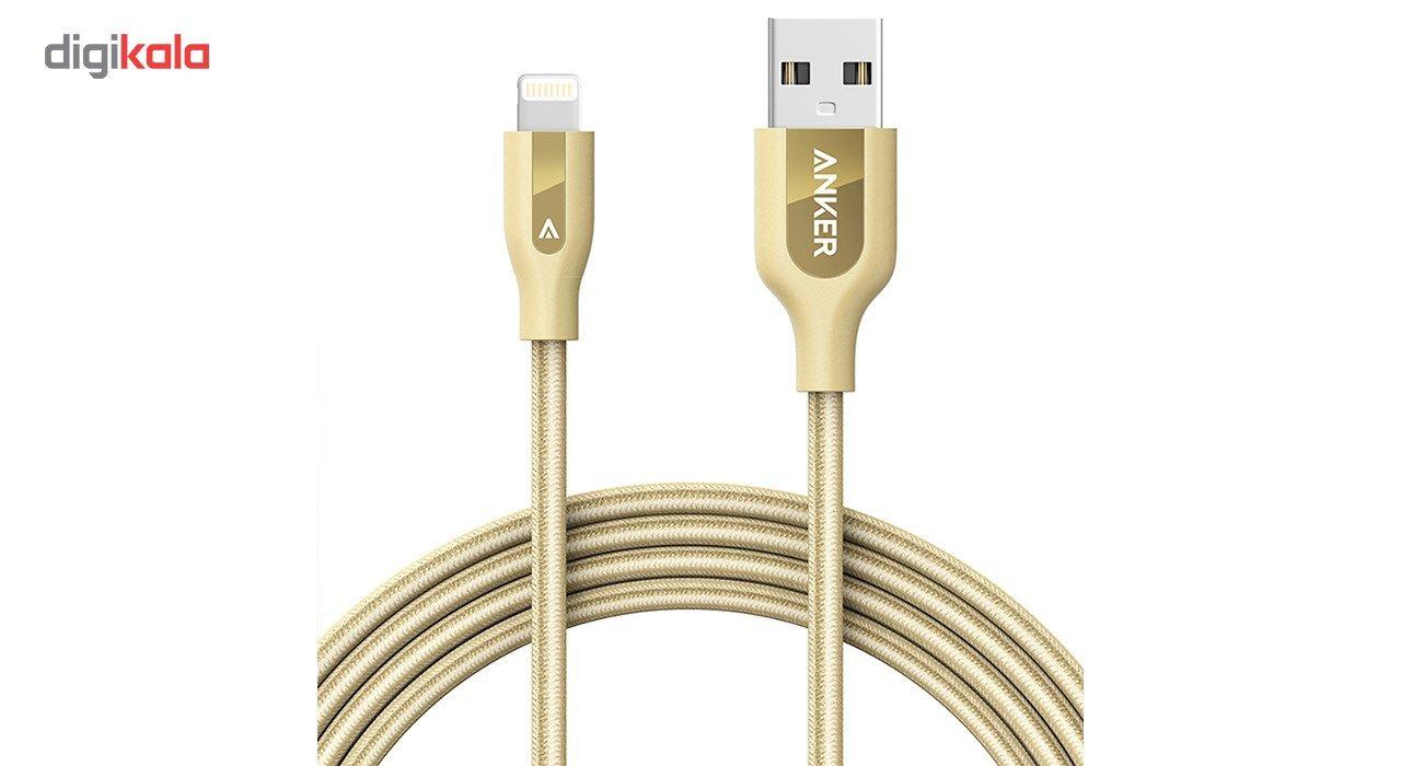 کابل تبدیل USB به لایتنینگ انکر مدل A8122 PowerLine Plus طول 1.8 متر main 1 1