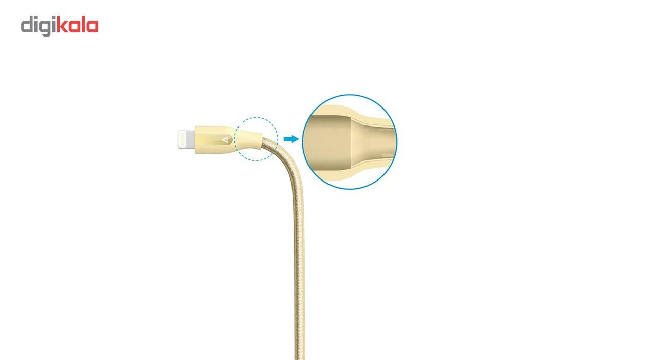 کابل تبدیل USB به لایتنینگ انکر مدل A8122 PowerLine Plus طول 1.8 متر main 1 3