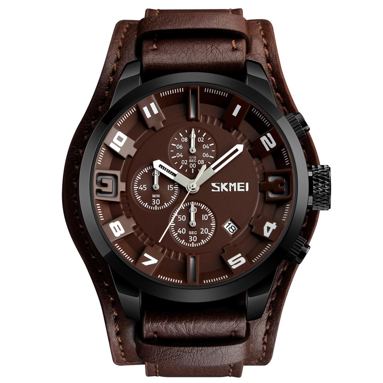 ساعت مچی عقربه ای مردانه اسکمی مدل 9165 کد 02