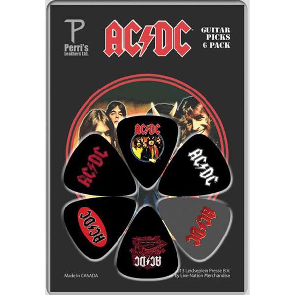 پیک گیتار پریس مدل ACDC بسته 6 عددی