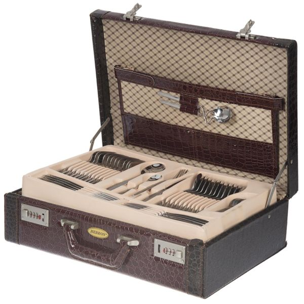 سرویس قاشق و چنگال 128 پارچه هبرون مدل Parma 2