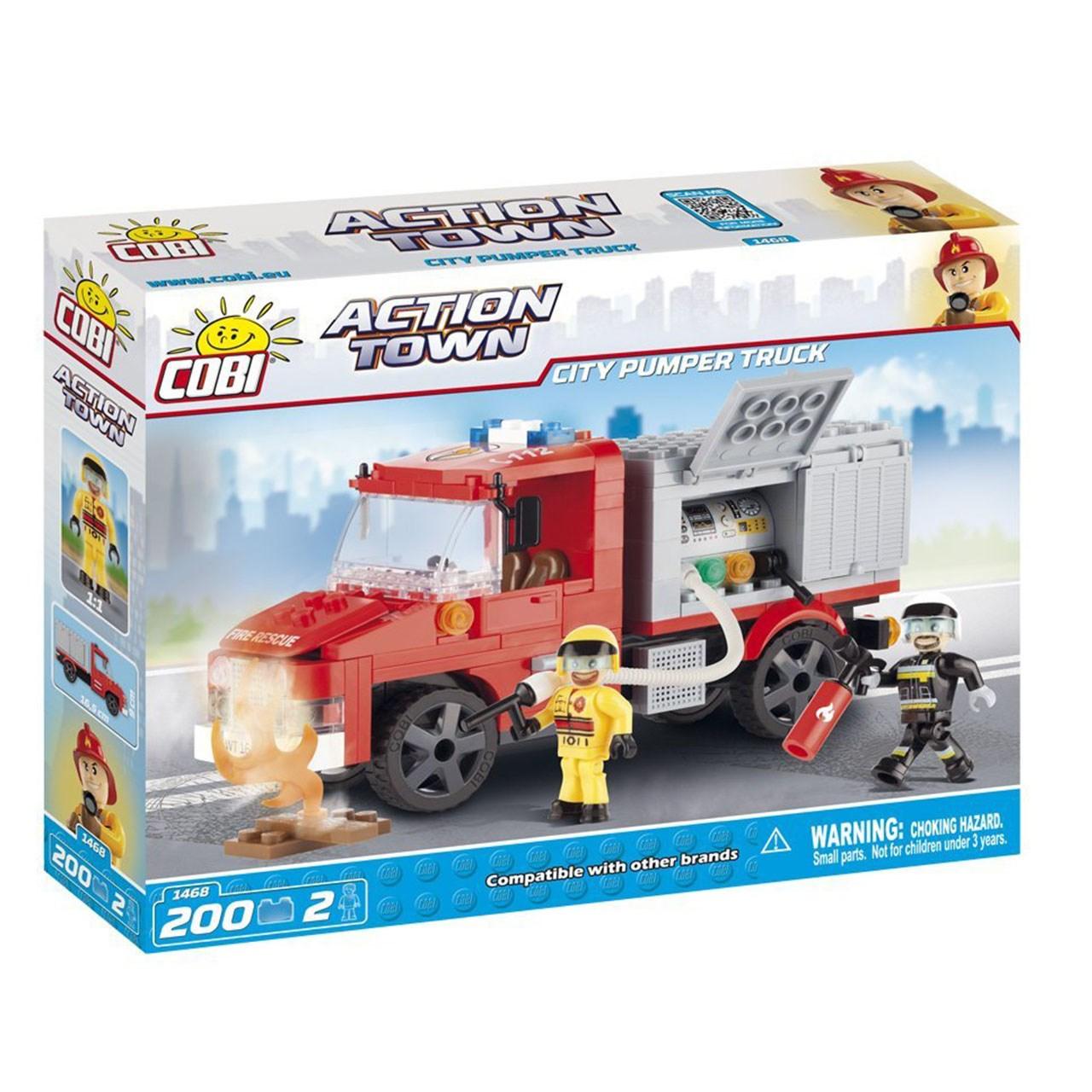 لگو کوبی مدل Action Town - City Pumper Truck