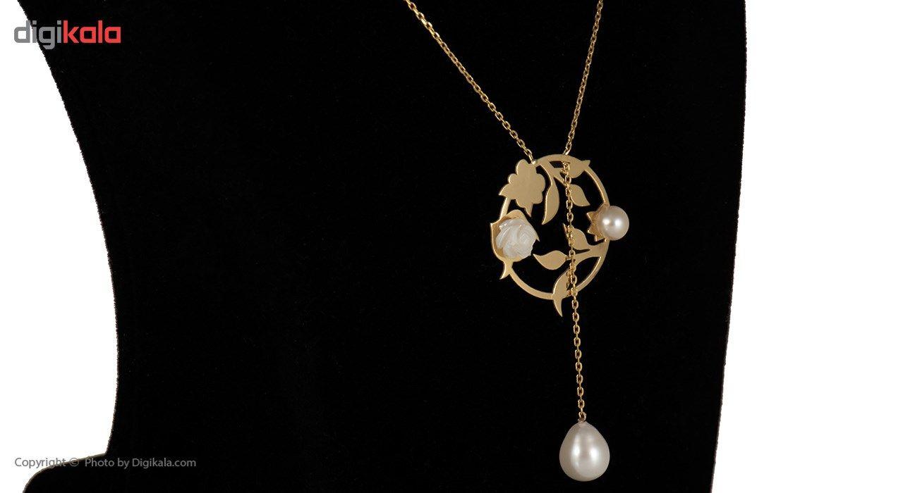 گردنبند طلا 18 عیار ماهک مدل MM0372 - مایا ماهک -  - 1
