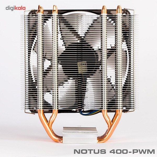 سیستم خنک کننده بادی گرین مدل NOTOUS 400-PWM main 1 3
