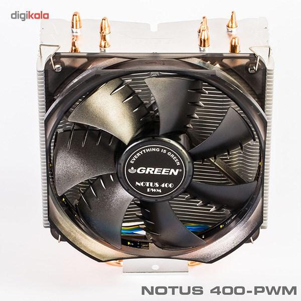 سیستم خنک کننده بادی گرین مدل NOTOUS 400-PWM main 1 4