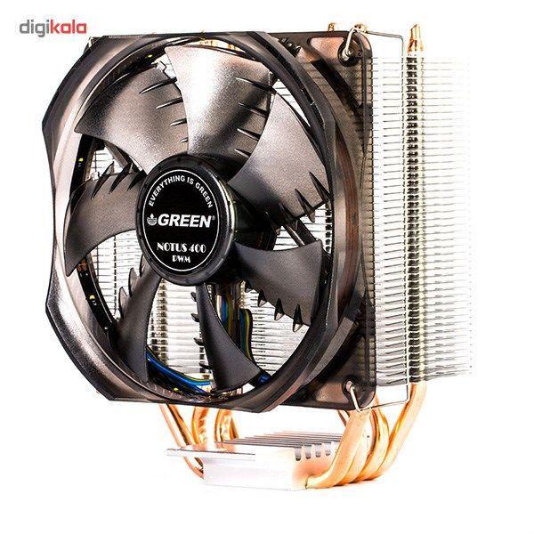 سیستم خنک کننده بادی گرین مدل NOTOUS 400-PWM main 1 5