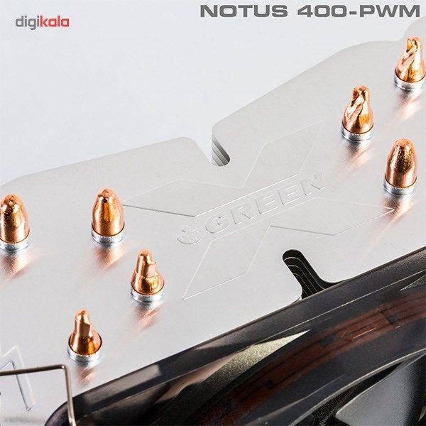 سیستم خنک کننده بادی گرین مدل NOTOUS 400-PWM main 1 6