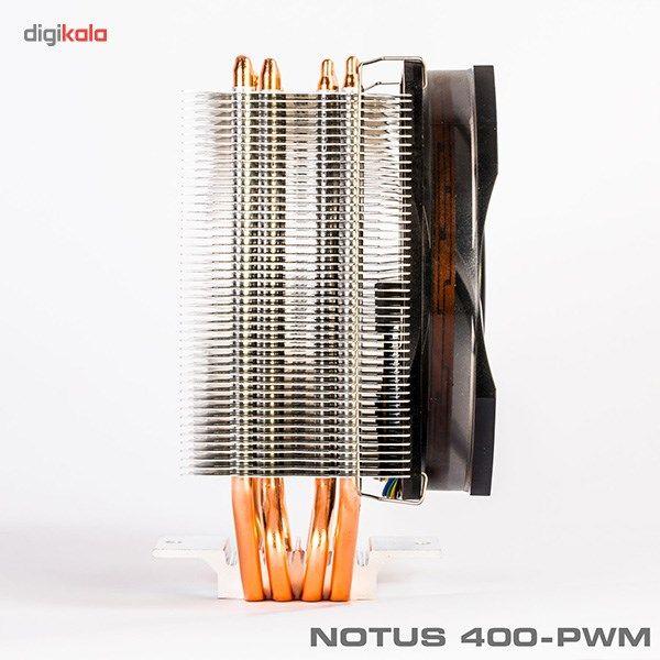 سیستم خنک کننده بادی گرین مدل NOTOUS 400-PWM main 1 10