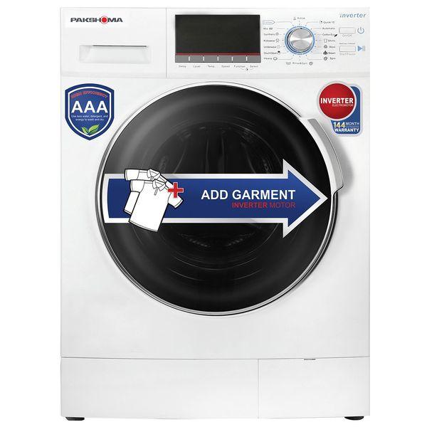 ماشین لباسشویی پاکشوما مدل WFI-91429 ظرفیت 9 کیلوگرم   Pakshoma WFI-90429 Washing Machine - 9 Kg