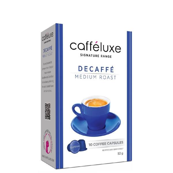 کپسول قهوه نسپرسو کافه لوکس مدل Decaffe Medium Roast