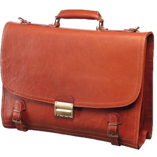 کیف اداری چرم طبیعی کهن چرم مدل L8-1