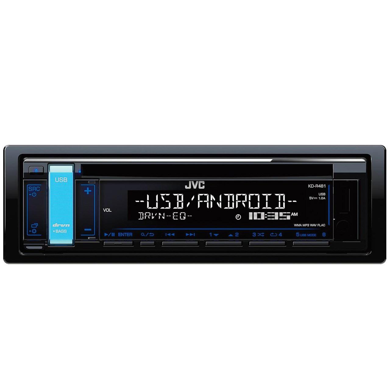 پخش کننده خودرو جی وی سی مدل KD-R481